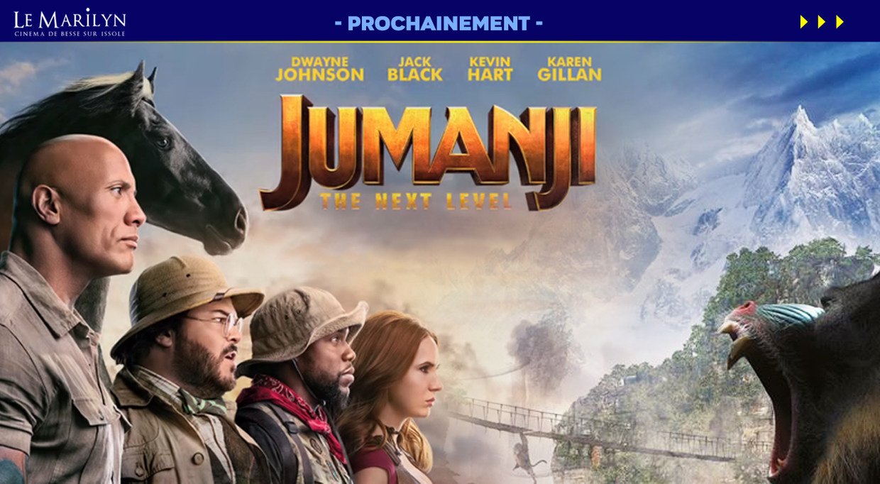 Photo du film Jumanji: next level