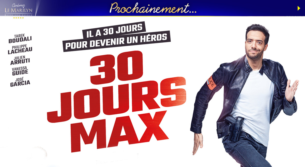 Photo du film 30 jours max