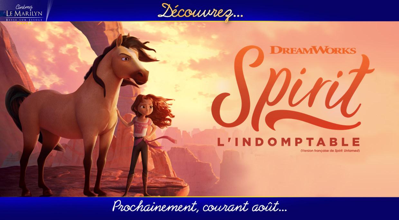 Photo du film Spirit : l'indomptable